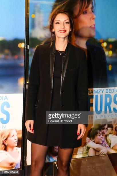Maria Duplaa attends the 'Une Vie Ailleurs' Paris Premiere at UGC Cine Cite des Halles on March 20 2017 in Paris France