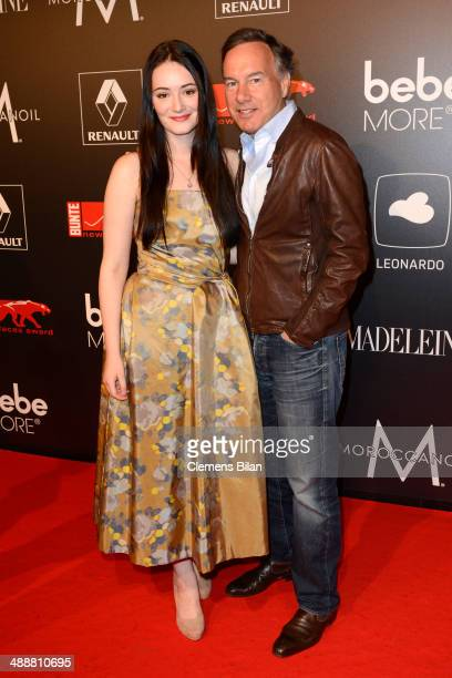 Maria Ehrich and Nico Hofmann attends Leonardo at the New Faces Award Film 2014 at eWerk on May 8 2014 in Berlin Germany