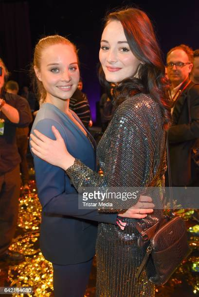 Maria Ehrich and Sonja Gerhardt attend the 99FireFilmsAward at Admiralspalast on February 16 2017 in Berlin Germany