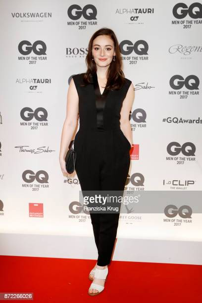 Maria Ehrich arrives for the GQ Men of the year Award 2017 at Komische Oper on November 9 2017 in Berlin Germany