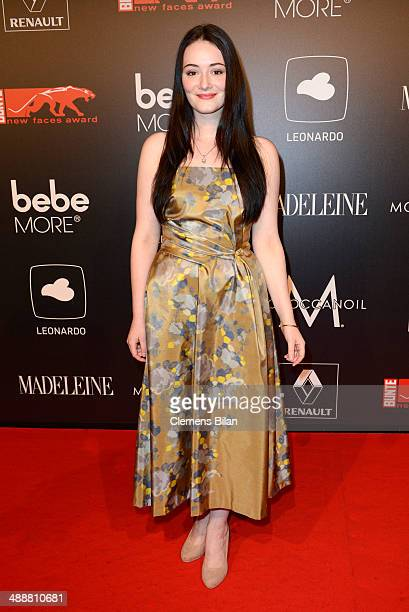 Maria Ehrich attends Leonardo at the New Faces Award Film 2014 at eWerk on May 8 2014 in Berlin Germany