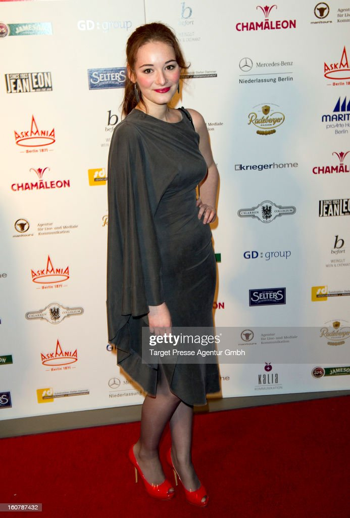 Maria Ehrich attends the 6th Askania Award 2013 on February 5, 2013 in Berlin, Germany.