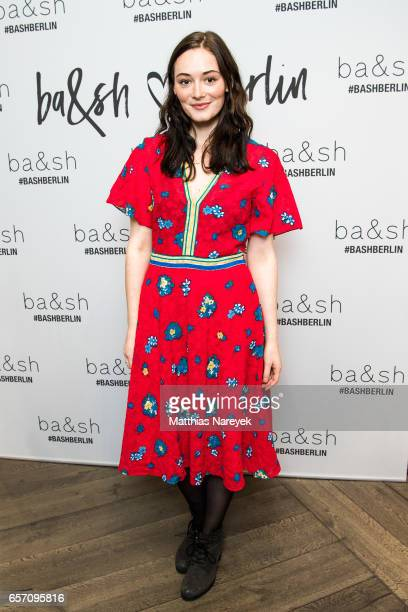 Maria Ehrich attends the BaSh store opening on March 23 2017 in Berlin Germany