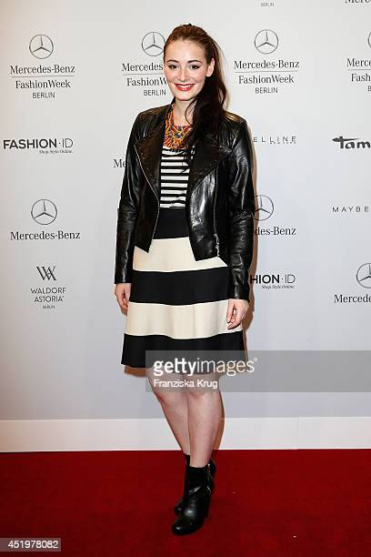 Maria Ehrich attends the Laurel show during the MercedesBenz Fashion Week Spring/Summer 2015 at Erika Hess Eisstadion on July 10 2014 in Berlin...
