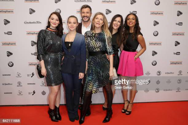 Maria Ehrich Sonja Gerhardt Jochen Schropp Ursula Karven Bettina Zimmermann and Alexandra Maurer attend the 99FireFilmsAward at Admiralspalast on...