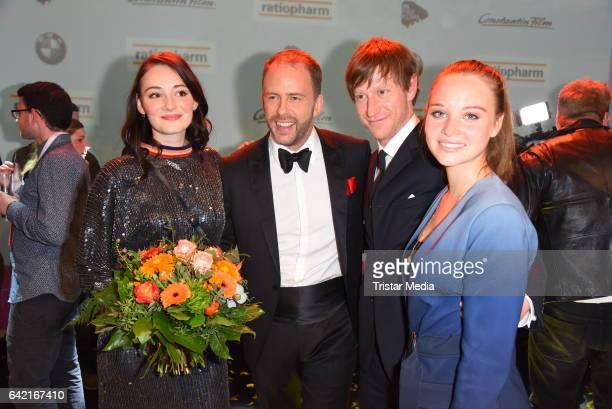 Maria Ehrich Stefan Kiwit Maxim Mehmet and Sonja Gerhardt attend the 99FireFilmsAward at Admiralspalast on February 16 2017 in Berlin Germany