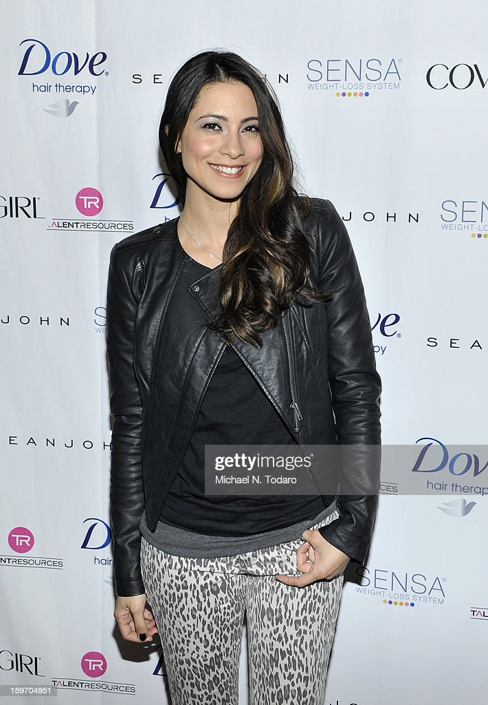 Maria Elena Laas attends the TR Suites Daytime Lounge - Day 1 on January 18, 2013 in Park City, Utah.