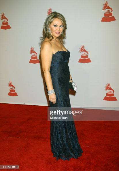 Maria Elena Salinas attends the 2008 Latin Recording Academy Person of the Year Tribute to Gloria Estefan held at George R Brown Convention Center on...