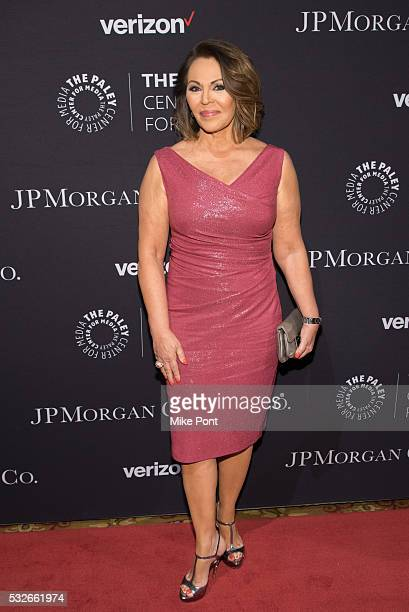 Maria Elena Salinas attends the 2016 Paley Center for Media's Tribute To Hispanic Achievements In Television at Cipriani Wall Street on May 18 2016...