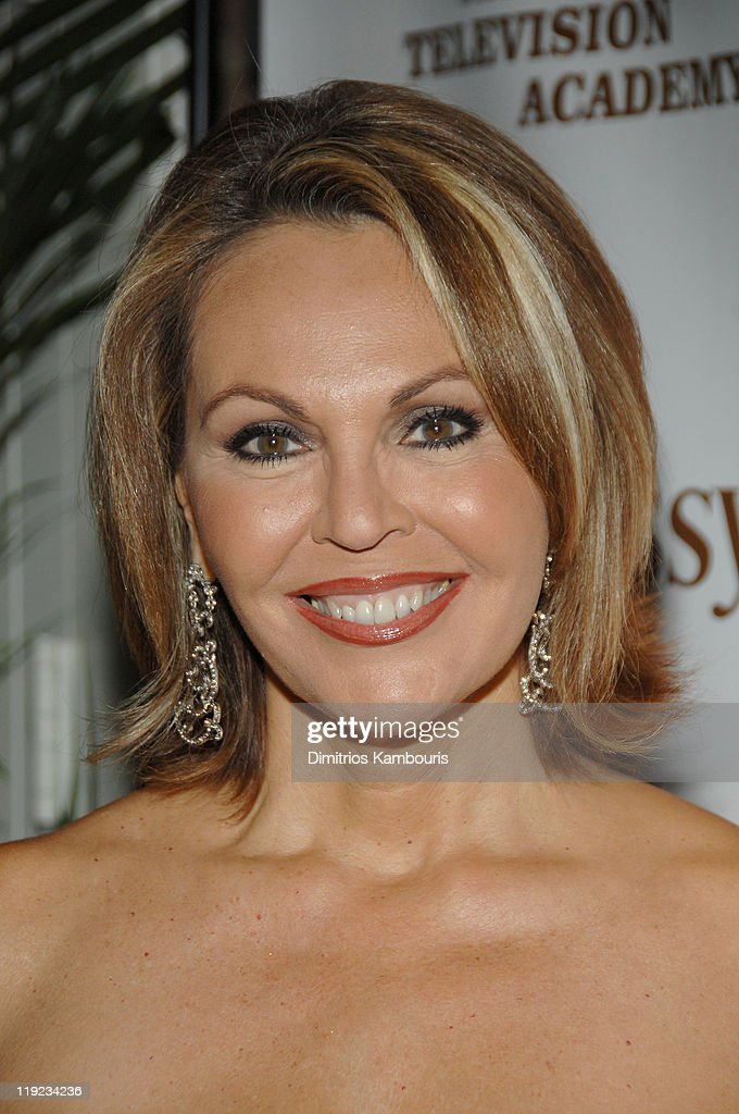 Maria Elena Salinas during Hennessy Official - After Party for the Latin Emmy's at Nikki Midtown in New York City, New York, United States.