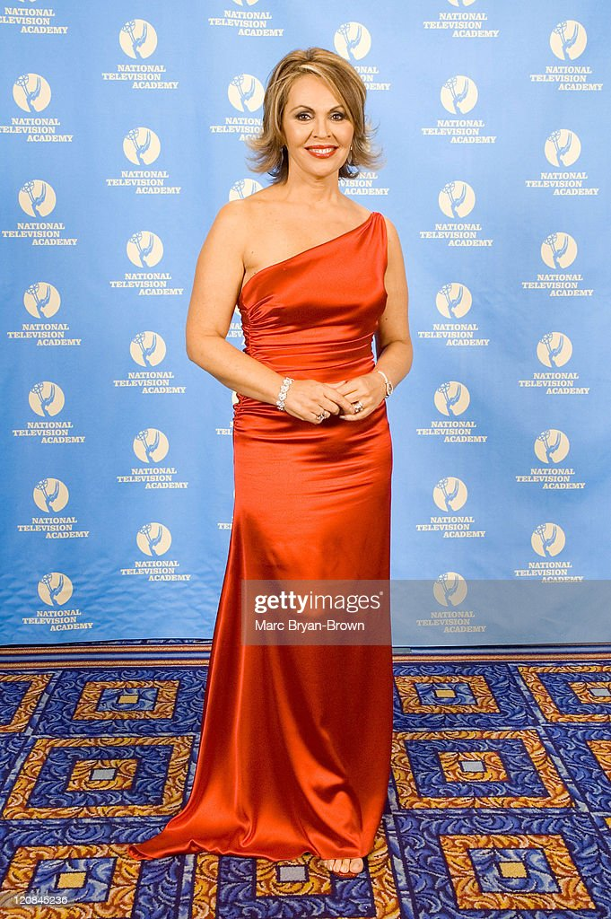 Maria Elena Salinas during The 27th Annual News and Documentary Emmy Awards - Winner Portraits at Mariott Marquis Hotel in New York City, New York, United States.