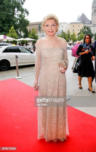 Maria Elisabeth Schaeffler attends the 'La Clemenzia di Tito' premiere during the Salzburg Festival 2017 on July 27 2017 in Salzburg Austria