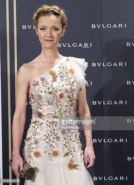 Maria Esteve attends the 'Bvlgari y Roma' exhibition presentation at the Italian Embassy on November 28 2016 in Madrid Spain
