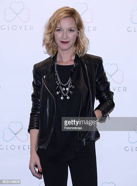 Maria Esteve attends the 'Clover' events agency presentation at the Room Mate Oscar Hotel on November 15 2016 in Madrid Spain