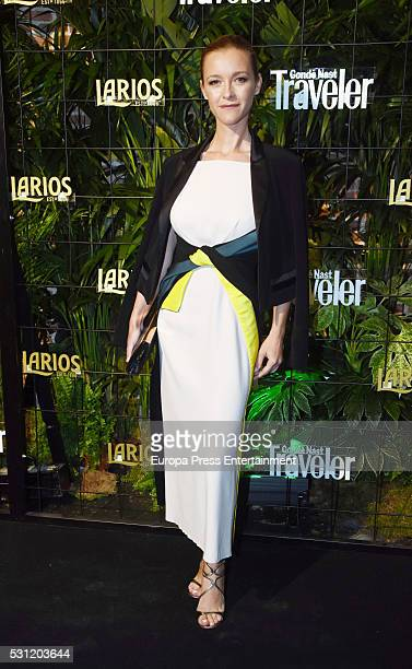 Maria Esteve attends the 'Conde Nast Traveler' awards 2016 on May 12 2016 in Madrid Spain