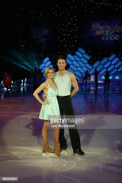 Maria Fillipov and Gary Lucy attend the Dancing on Ice Tour photocall on April 8 2010 in Sheffield England