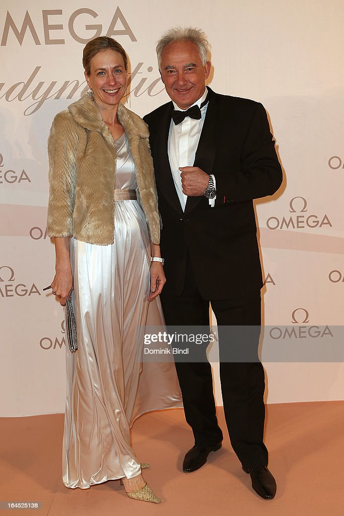 Maria Fojtl and Rudolf Semrad attend the Omega Gala 'La Nuit Enchantee' at Gartenpalais Liechtenstein on March 23, 2013 in Vienna, Austria.