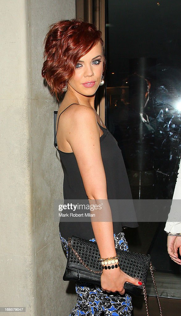 Maria Fowler at the May Fair hotel on May 11, 2013 in London, England.