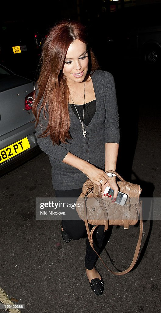 Maria Fowler sighting on November 14, 2012 in London, England.