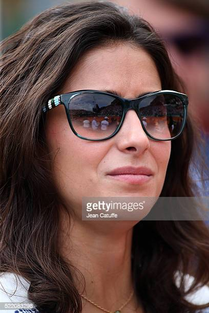 Maria Francisca Perello aka Xisca Perello girlfriend of Rafael Nadal of Spain attends the final of the 2016 MonteCarlo Rolex Masters at MonteCarlo...