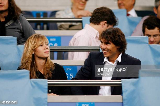 Maria Francisca Xisca PERELLO / Rafael NADAL Real Madrid / Marseille Champions League Madrid Espagne