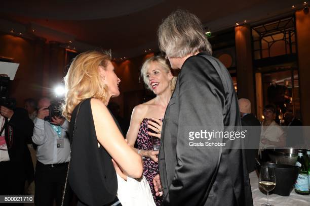 Maria Furtwaengler and Katja Eichinger during the opening night party of the Munich Film Festival 2017 at Hotel Bayerischer Hof on June 22 2017 in...