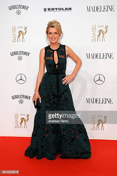 Maria Furtwaengler arrives at the Bambi Awards 2016 at Stage Theater on November 17 2016 in Berlin Germany
