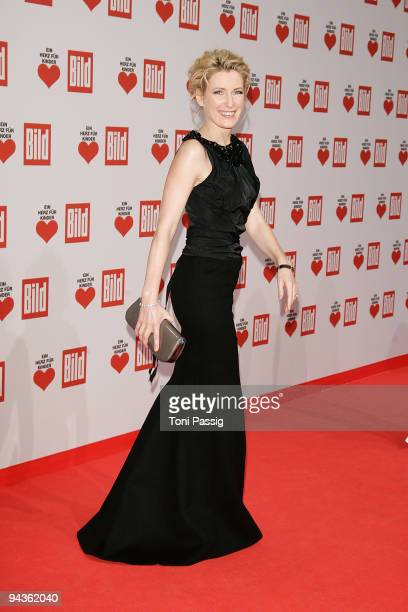 Maria Furtwaengler attends the 'Ein Herz fuer Kinder' Gala at Studio 20 at Adlershof on December 12 2009 in Berlin Germany