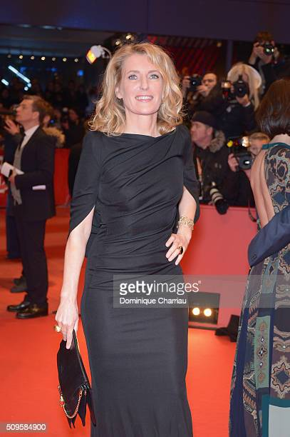 Maria Furtwaengler attends the 'Hail Caesar' premiere during the 66th Berlinale International Film Festival Berlin at Berlinale Palace on February 11...