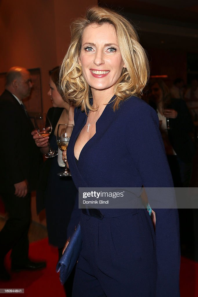 Maria Furtwaengler attends the opening party of the 63rd Berlinale International Film Festival at The Berlinale Palace on February 7, 2013 in Berlin, Germany.