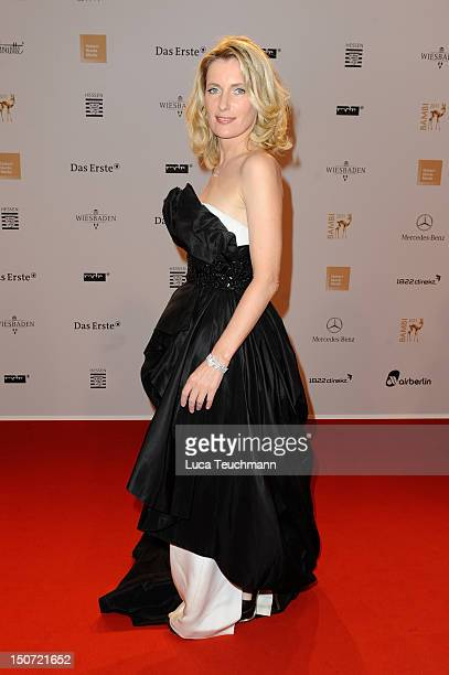 Maria Furtwaengler attends the Red Carpet for the Bambi Award 2011 ceremony at the RheinMainHallen on November 10 2011 in Wiesbaden Germany