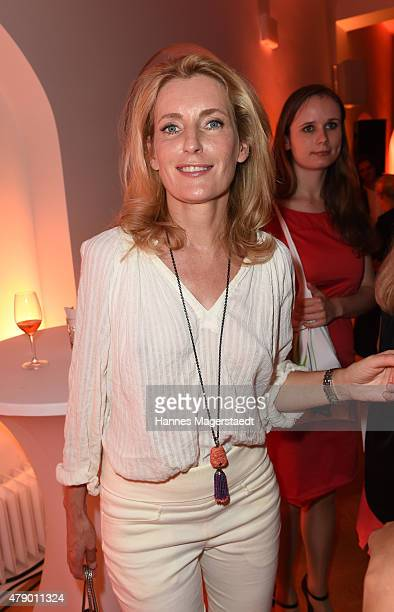 Maria Furtwaengler attends the UFA FICTION Reception during the Munich Film Festival at Cafe Reitschule on June 29 2015 in Munich Germany