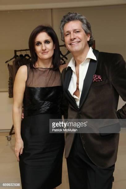Maria Grazia Chiuri Carlos Souza attends VALENTINO Creative Designers Maria Grazia Chiuri and Pier Paolo Piccioli Host Cocktails Followed By Private...