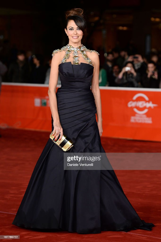 <a gi-track='captionPersonalityLinkClicked' href=/galleries/search?phrase=Maria+Grazia+Cucinotta&family=editorial&specificpeople=236018 ng-click='$event.stopPropagation()'>Maria Grazia Cucinotta</a> attends 'Out Of The Furnace' Premiere during The 8th Rome Film Festival on November 12, 2013 in Rome, Italy.