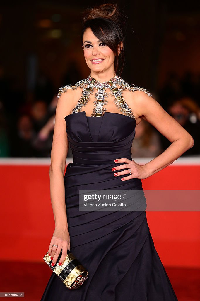 Maria Grazia Cucinotta attends 'Out Of The Furnace' Premiere during The 8th Rome Film Festival at Auditorium Parco Della Musica on November 12, 2013 in Rome, Italy.