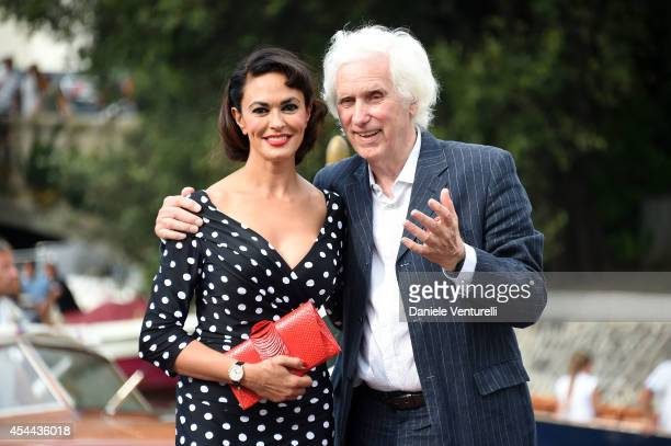 Maria Grazia Cucinotta presents her book 'Come Una Pin Up' by/with Douglas Kirkland during the 71st Venice Film Festival on August 31 2014 in Venice...