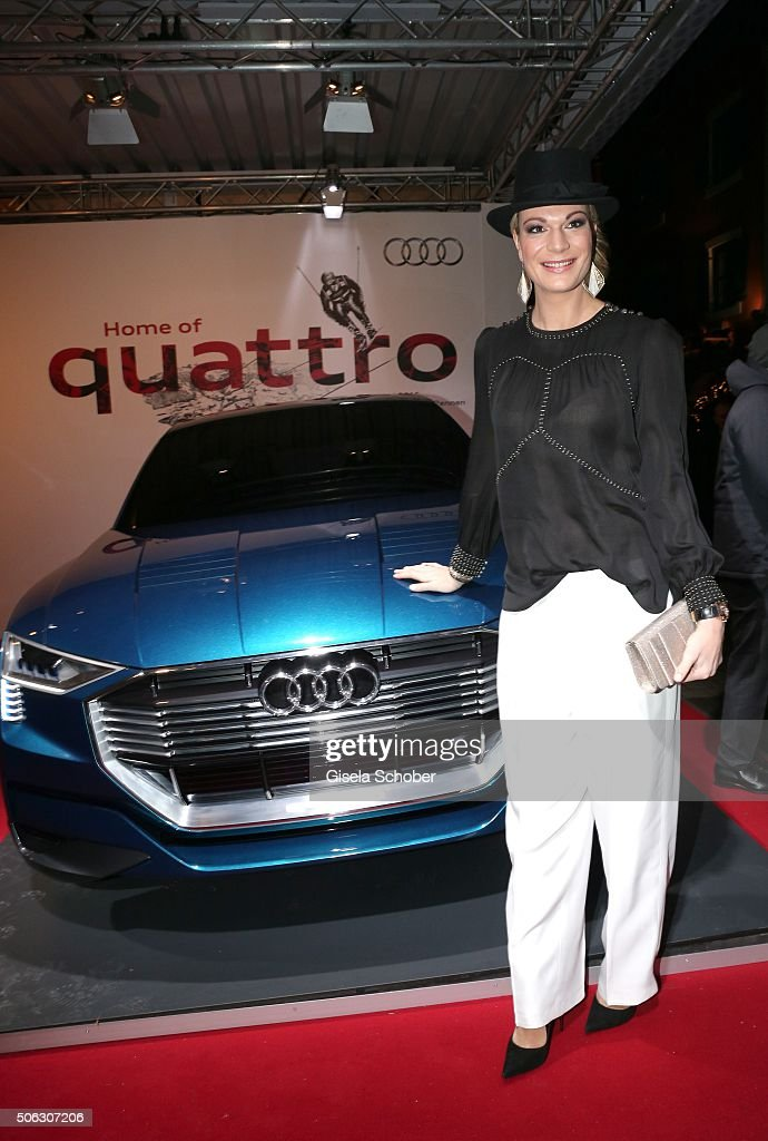 photo of Maria Höfl-Riesch Audi - car