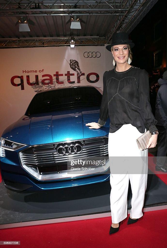 photo of Maria Höfl-Riesch Audi - car