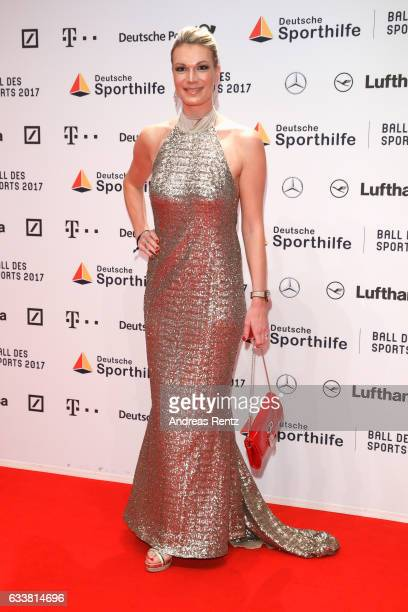 Maria HoeflRiesch attend the German Sports Gala 'Ball des Sports 2017' on February 4 2017 in Wiesbaden Germany