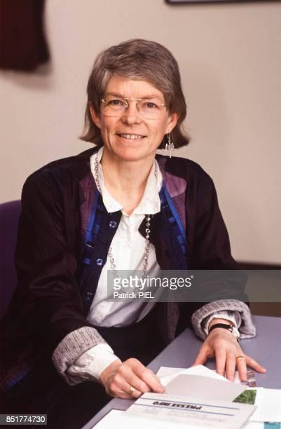 Maria Jepsen première femme évêque protestante en avril 1992 à Hambourg Allemagne