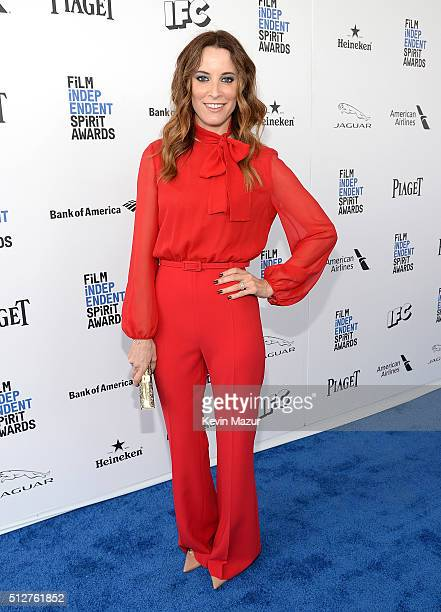 Maria Joao Bastos attends 2016 Film Independent Spirit Awards on February 27 2016 in Santa Monica California
