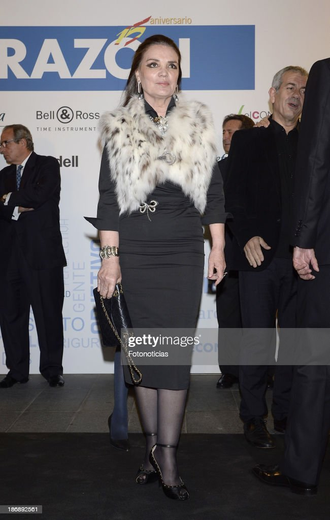 Maria Jose Cantudo attends 'La Razon' newspaper 15th anniversary party on November 4, 2013 in Madrid, Spain.