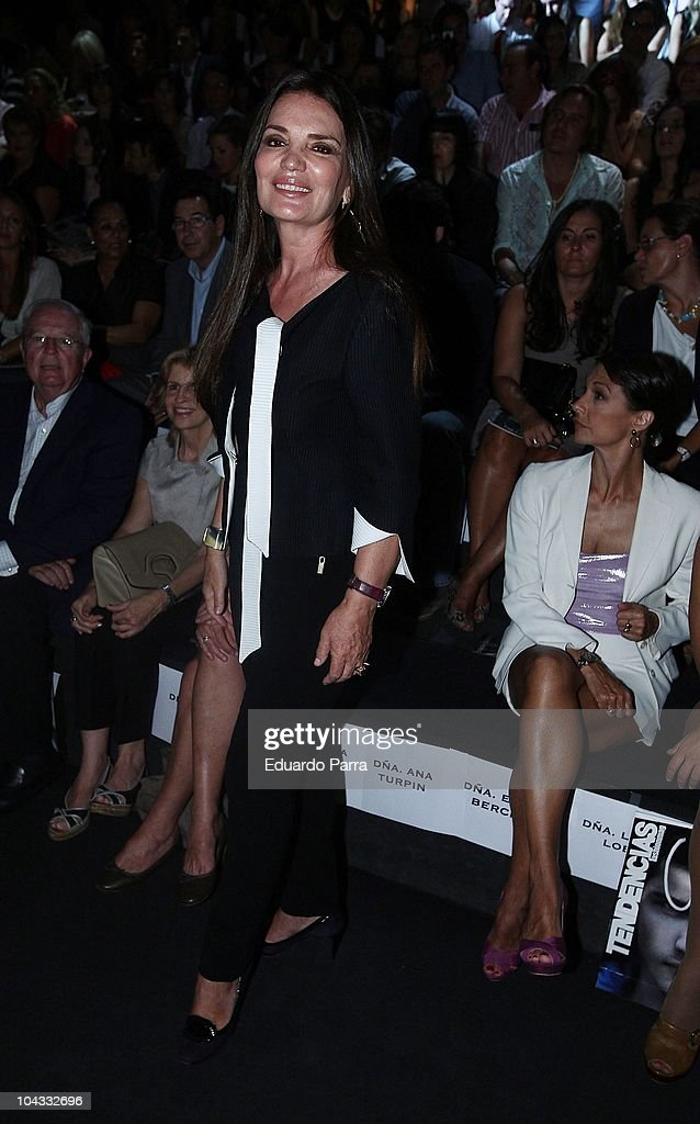Celebrities attend Cibeles Madrid Fashion Week S/S 2011 ...