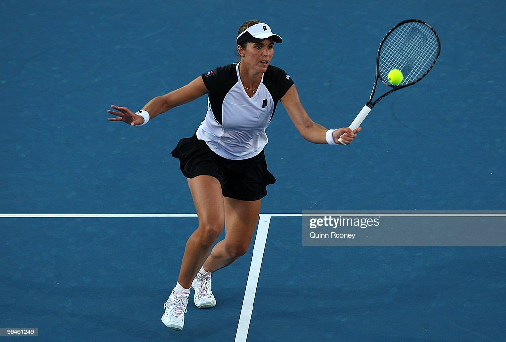 Australia v Spain - 2010 Fed Cup World Group II