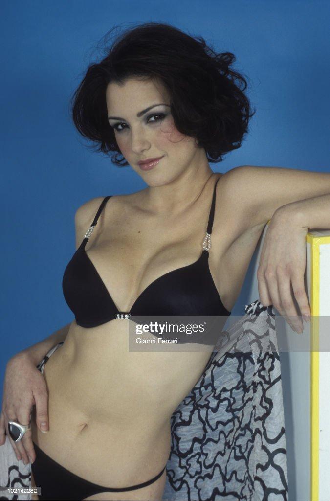 Maria Jose Ruiz, Miss Spain 2004, 2004, Madrid, Spain.