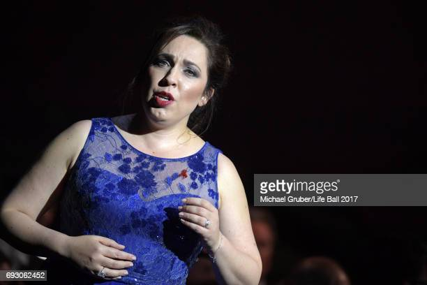 Maria Jose Siri performs on stage during the Life Celebration Concert at Burgtheater on June 6 2017 in Vienna Austria The concert marks the opening...