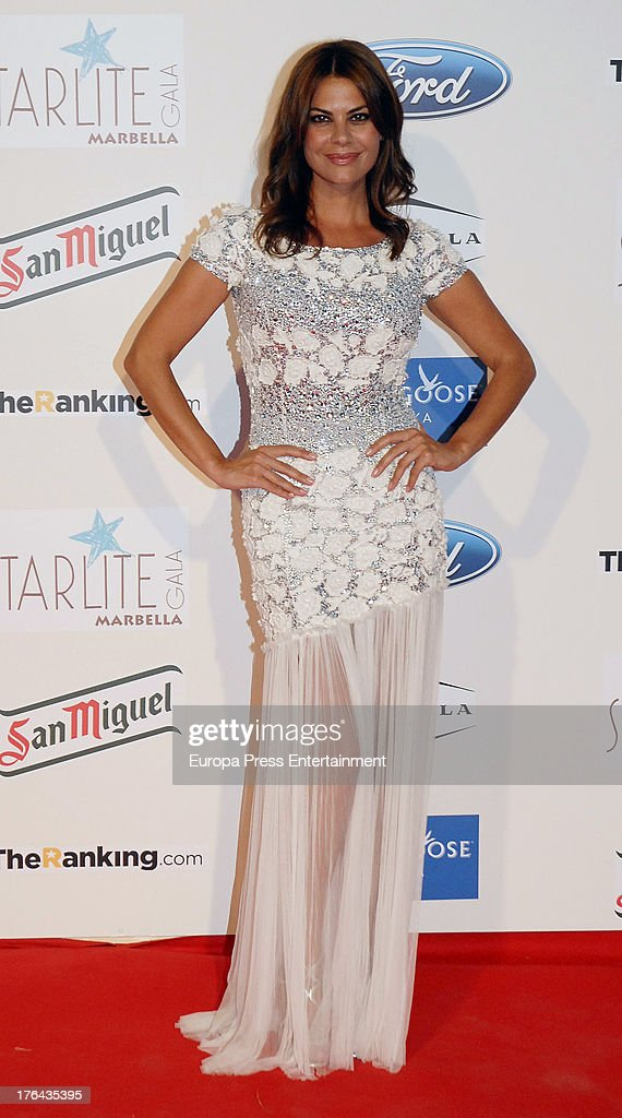 Maria Jose Suarez attends the 4rd annual Starlite Charity Gala on August 10, 2013 in Marbella, Spain.