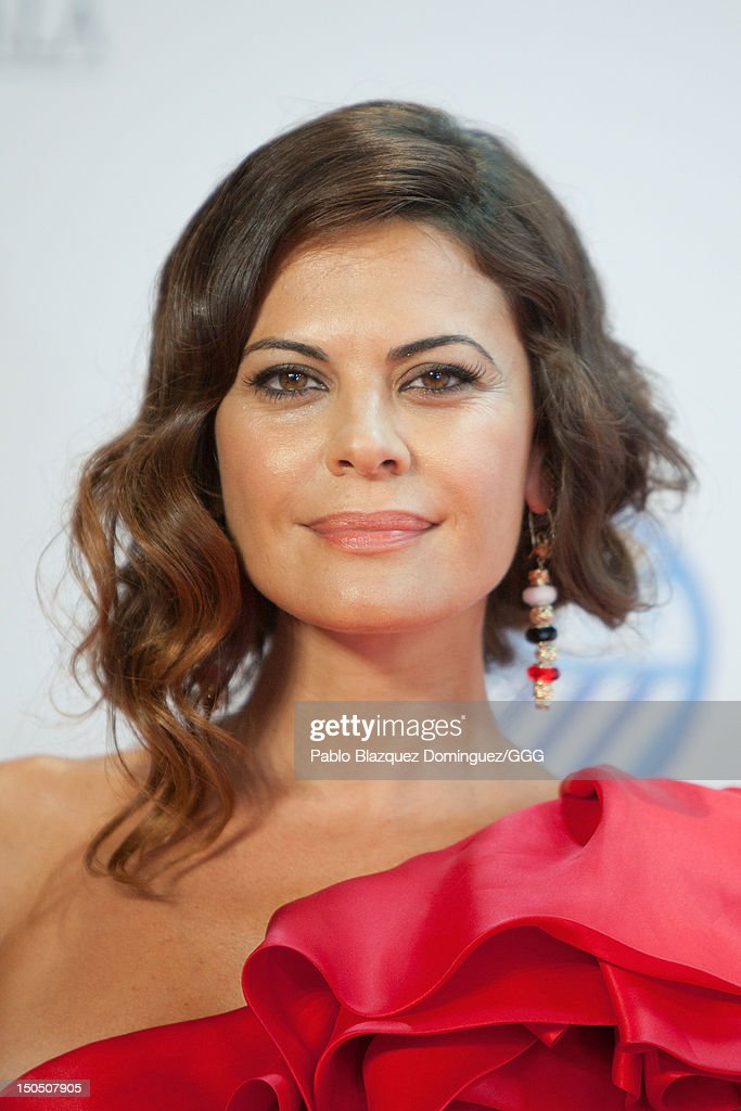Maria Jose Suarez attends the Global Gift Gala held to raise benefits for Cesare Scariolo Foundation and Eva Longoria Foundation on August 19 2012 in...