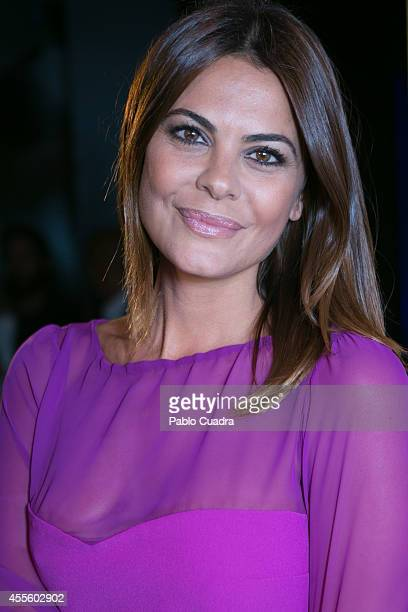 Maria Jose Suarez poses during a photocall to present a Meetic event on September 17 2014 in Madrid Spain