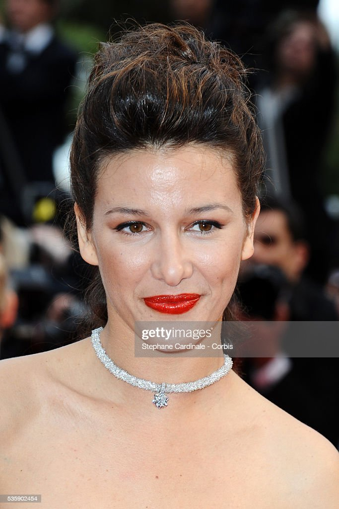 Maria Jurado at the Premiere for 'You will meet a tall dark stranger' during the 63rd Cannes International Film Festival.